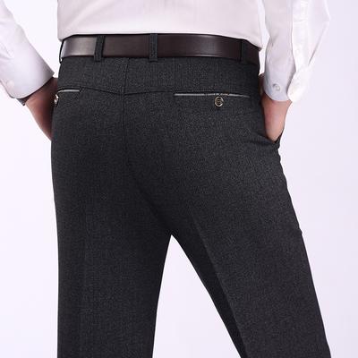 Mùa hè phần mỏng quần âu nam thẳng lỏng quần dài trung niên quần cha kinh doanh mới nóng