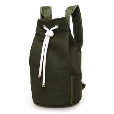 2017 New Trendy Men's Canvas Backpack Large Capacity Sports Bag