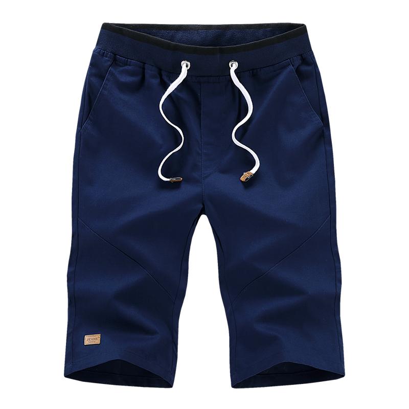 Cotton nam mùa hè quần short cắt quần quần mùa hè quần năm quần 5 điểm 7 điểm quần âu mùa hè thanh niên