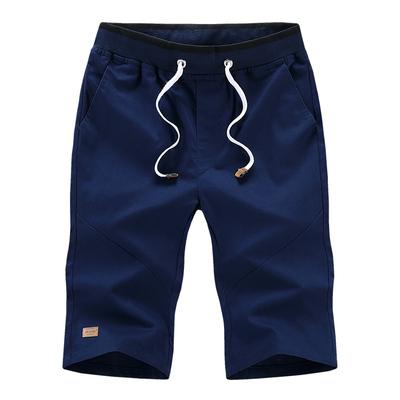 Cotton nam mùa hè quần short cắt quần quần mùa hè quần năm quần 5 điểm 7 điểm quần âu mùa hè thanh niên 3/4 Jeans