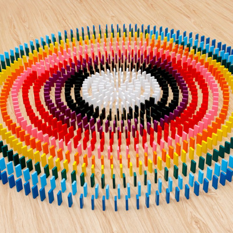 1000 cái của trẻ em domino cạnh tranh đồ chơi bằng gỗ dành cho người lớn khối xây dựng thông minh 3-6-7-9-85 tuổi