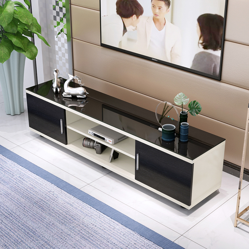 Parcel Post Toughened Glass Tv Cabinet Modern Simple Tea Table Tv
