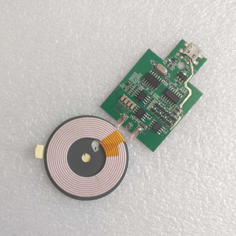 10W无线充电器模块发射端线圈通用diy改装手机无线充电器电路板