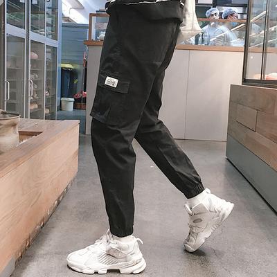 秋季休闲运动套装男潮牌同款日版潮流卫衣休闲裤两件套潮流套装