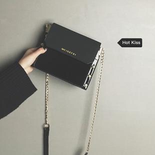 【网红小黑包】时尚百搭漆皮小方包