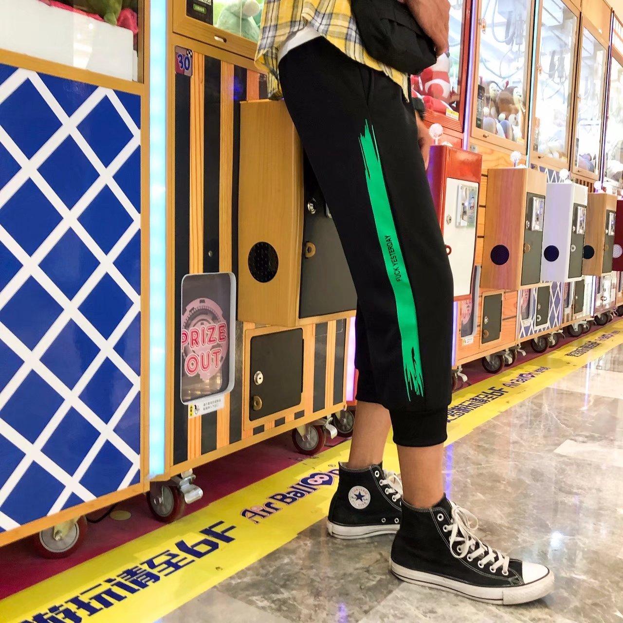 2018 mùa hè mới khô nhanh cắt quần nam Hàn Quốc phiên bản của xu hướng tự trồng 6 sáu quần nam quần short giản dị hoang dã