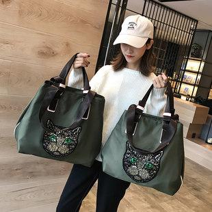 Чистый красный сумка женщина корейский короткий способ ридикюль багаж пакет путешествие большой потенциал легкий движение фитнес сумку