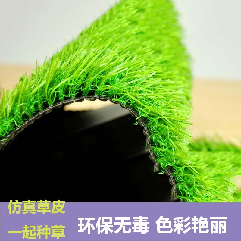 专用展示防水绿化球场材料施工商场仿真草坪人造草坪固定室内草皮