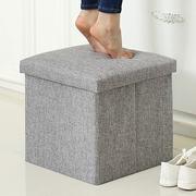 Phân đơn giản hiện đại nội thất dân cư ghế thay đổi giày băng ghế dự bị băng ghế dự bị phân lớp trẻ em phân vải ngắn phân