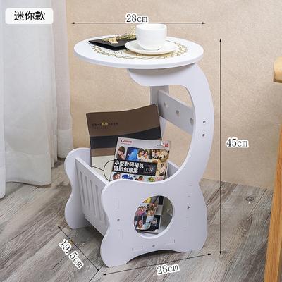 现代简约床头柜储物柜床头柜小圆桌