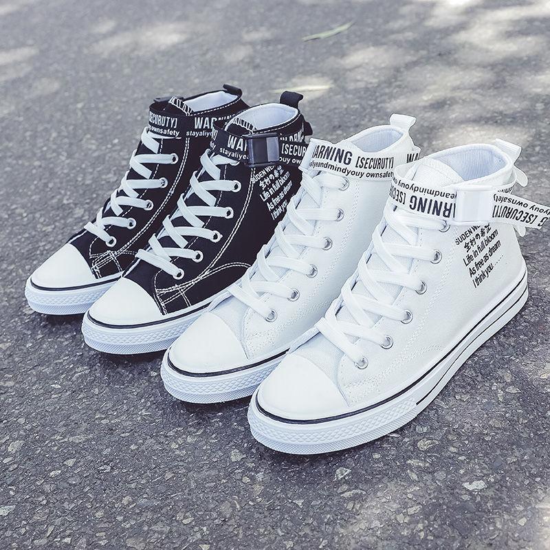 p10 mùa hè mới của phụ nữ giày vải giày nữ sinh viên giày trắng giày thường giày phiên bản Hàn Quốc của giày nhỏ màu trắng giày chạy giày thể thao - Plimsolls