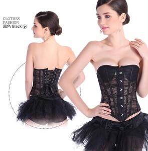 Mùa hè phần nóng tòa corset ren hollow cơ thể giảm béo corset xương cá