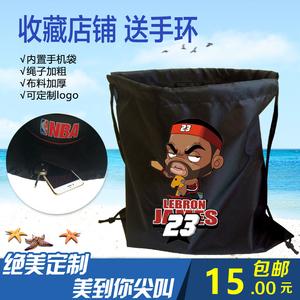New James Curry túi bóng rổ bó túi vai dây rút ba lô túi thể thao sao bóng rổ bóng rổ túi tùy chỉnh