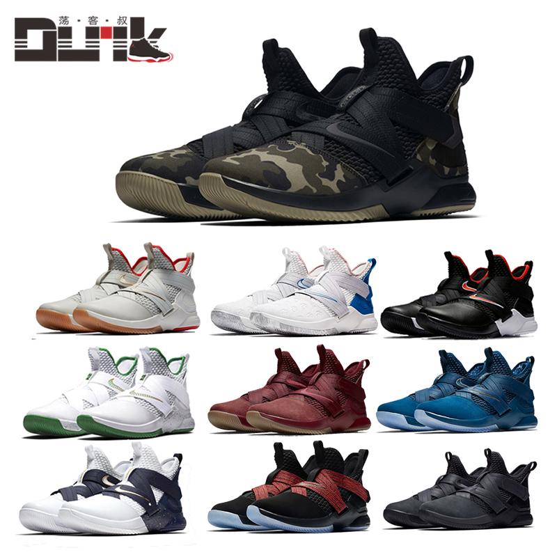 耐克LeBron Soldier XII詹姆斯战士12代AO4055士兵100篮球鞋男002