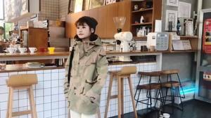 迷彩工装棉服2018新款韩版学生宽松BF冬季棉衣外套女潮