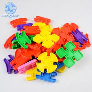 多功能拼接积木幼儿园早教园环保塑料拼插积木儿童桌面益智玩具