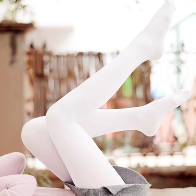 taobao agent Japanese Mori female princess girl small fresh Lolita pure white student dance milk white velvet pantyhose