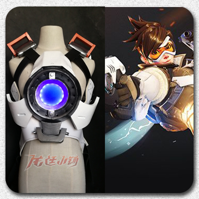 taobao agent 【Long Ting】Overwatch cosplay props / Tracer cos Tracer breastplate cos