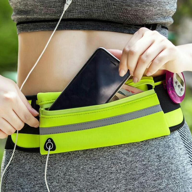 Túi thể thao ngoài trời đêm chạy thiết bị 6 inch điện thoại di động túi nhỏ cá nhân đa chức năng vành đai chạy túi người đàn ông và phụ nữ
