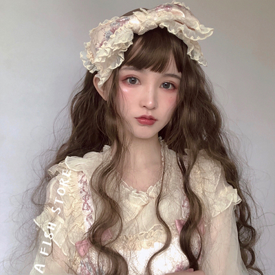 taobao agent 【Long hair】Yujia*New Wig Instant Noodle Daily Roll Lolita Cute Wave Spot