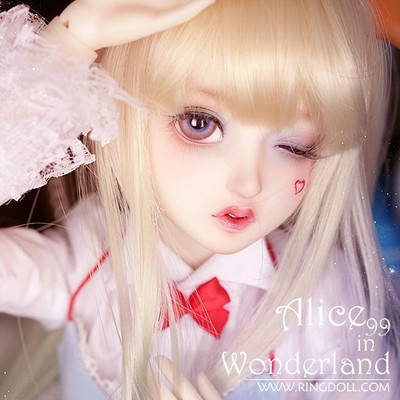 taobao agent Ringdoll1/3BJD doll SD female full set Alice 99 in Ragnarok (closed warehouse only for display)