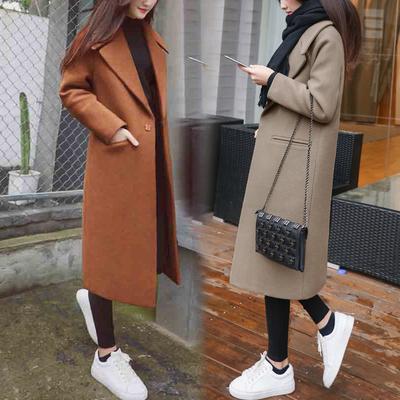 Chống mùa khuyến mãi dày scorpion chất lượng tốt slim loose dài áo len nữ over the knee Hàn Quốc phiên bản của áo len Áo Hàn Quốc