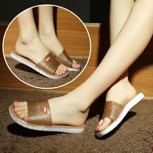 New dép đi trong nhà tắm pha lê tắm giày home home nữ trong nhà từ kéo nhựa dép chống trượt và dép đi trong nhà