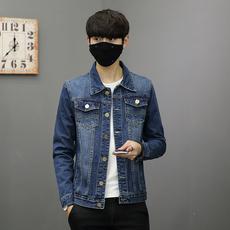 男士牛仔外套春季新款韩版潮流外衣学修身生帅气百搭夹克8116-P70