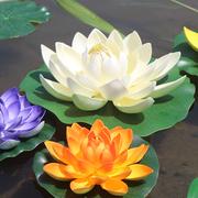 Mô phỏng hoa sen giả hoa sen nước cảnh quan lily nước watercape nổi hoa trang trí cho sân khấu Phật đạo diễn - Hoa nhân tạo / Cây / Trái cây