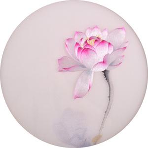 Su thêu thêu DIY kit người mới bắt đầu stitch quét sen loạt triptych handmade tự học sơn trang trí