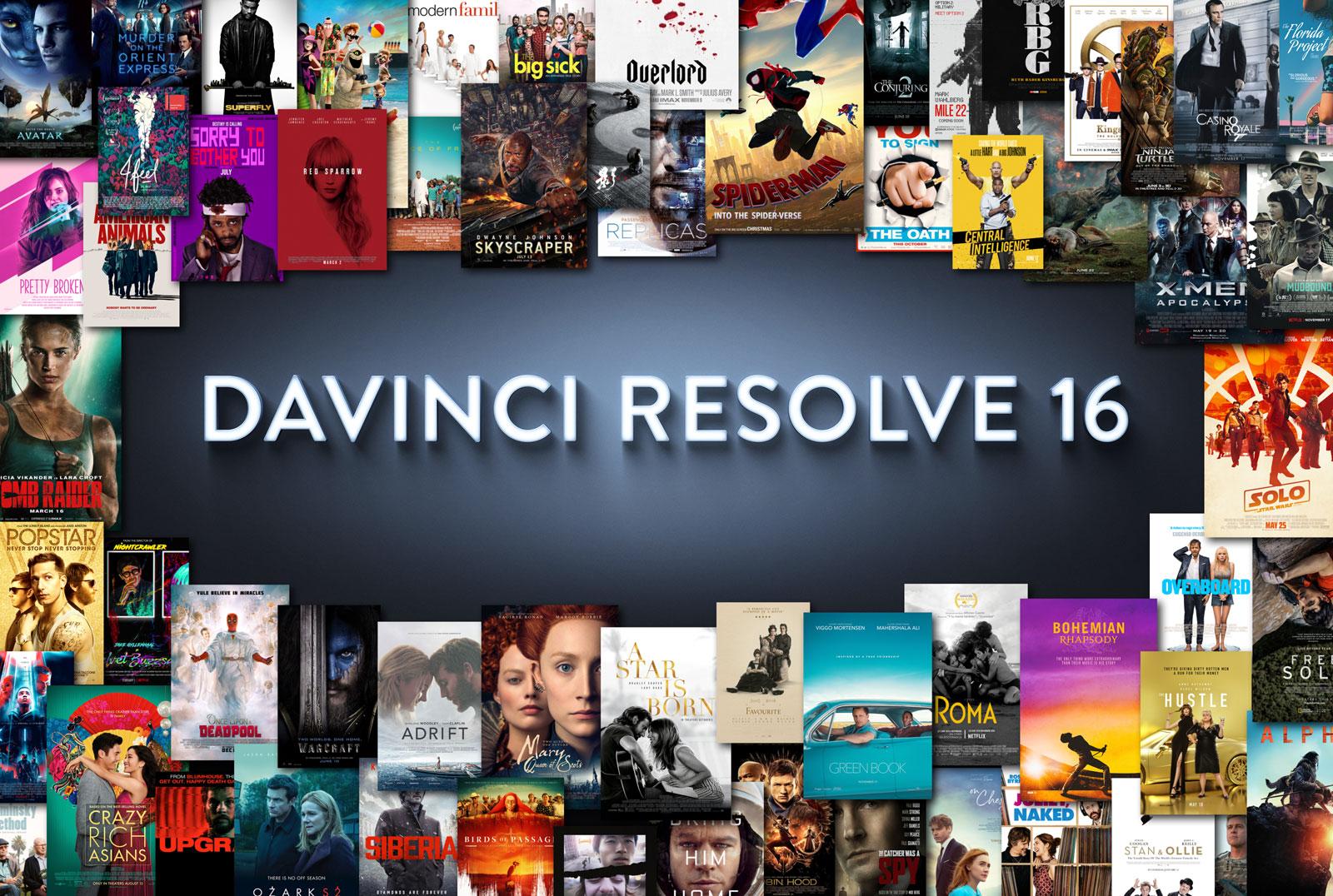 【A94】达芬奇调色软件DaVinci Resolve Studio 16.0b1 Mac 中文/英文破解版