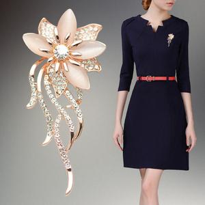 Thời trang hàn quốc trâm cao cấp phù hợp với trâm của phụ nữ cardigan áo len coat pin khăn choàng khóa phụ kiện