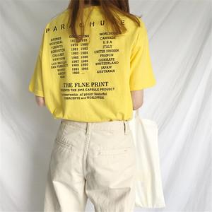 实拍 ?#23548;?后背字母印花领口破洞圆领短袖T恤女 #9921