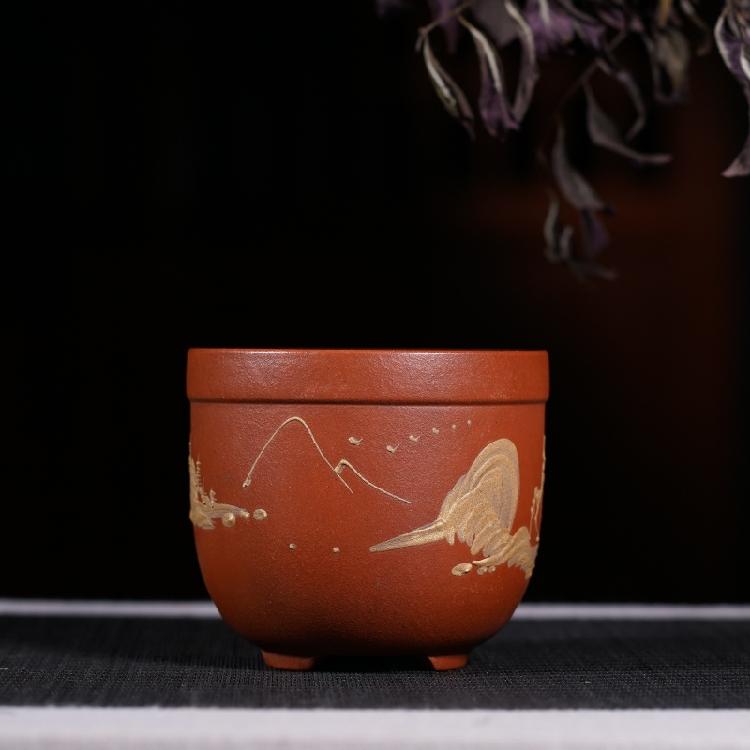 Đặc biệt cung cấp Yixing màu tím cát hoa nồi cũ hoa nồi cũ đối tượng thịt nhiều hơn bùn sơn hoa nồi đặc biệt cung cấp