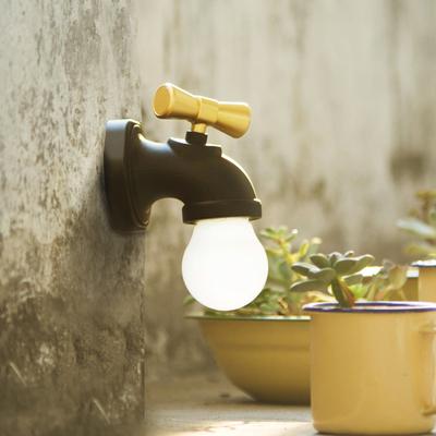 民国复古智能声控水龙头LED 小夜灯