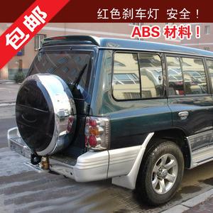 Dành riêng cho Mitsubishi Cheetah Black King Kong cánh cánh cố định ABS phía sau xe đuôi với đèn phanh đặc biệt cung cấp