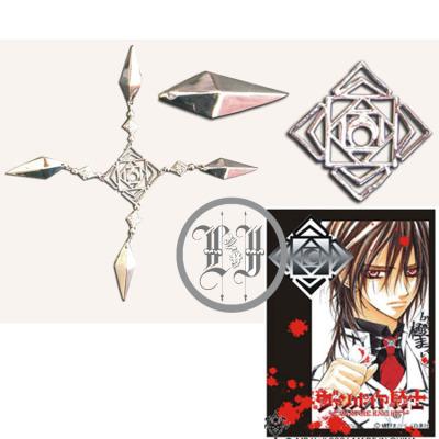 taobao agent Jiulanshu cos vampire knight cosplay accessories black master academy night department men's collar badge boxed