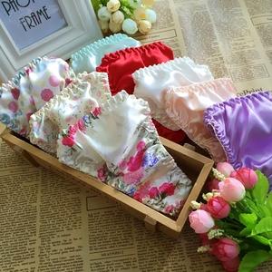 Hai dâu lụa phụ nữ thong của phụ nữ tam giác đồ lót của phụ nữ quần ngủ lụa của phụ nữ đồ lót