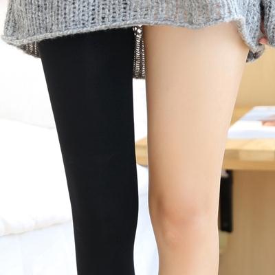 日本显瘦美腿袜防勾丝压力裤打底袜