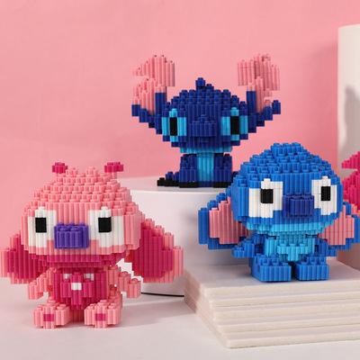 微型拼插颗粒拼装积木女孩子男钻石积木益智玩具成人儿童益智玩具