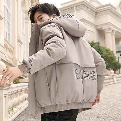 冬季保暖帅气棉衣2019新款