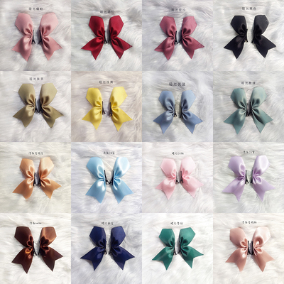 taobao agent 【MAID】Moe lolita bow pair clip Tosaka Rin cos double ponytail side clip