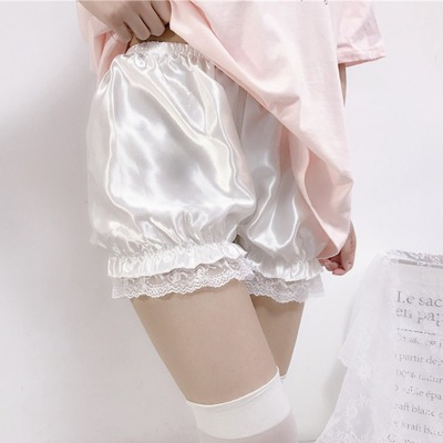 taobao agent Pumpkin pants jk safety pants women's summer weather-proof emptiness can be worn outside leggings lantern shorts thin safety pants