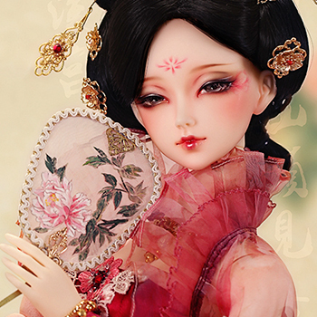 taobao agent ASDOLL Angel Studio, bjd clothes, 62 women's costume drunk flower shade, CL3150523
