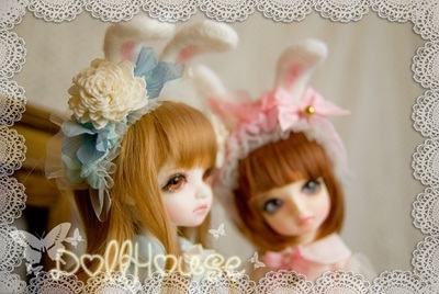 taobao agent 1/6 Female Female Little Bunny and Love Bear Love Suit
