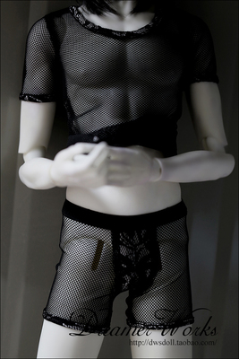 taobao agent 【DWS】BJD/SD 3 points 4 points doll clothes mesh top + mesh shorts 1/4, 1/3, uncle