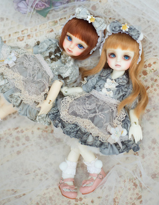 taobao agent 【Limited set】6 points BB small ocean skirt lily of the valley ball