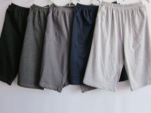 Của nam giới và phụ nữ ngủ quần cotton mùa hè mới nhà quần casual đáy bảy quần phần mỏng năm quần