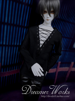 taobao agent BJD/SD doll 4 points 3 points clothes/baby clothes Low V-chested long-sleeved top 1/4,1/3, uncle and strong uncle
