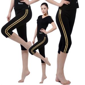 2016 mới nhất quần áo khiêu vũ Mỏng mỏng hip quần thể dục thể dục dụng cụ thể dục nhịp điệu quần áo khiêu vũ Latin 7 quần